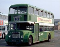 813SHW in NBC green livery