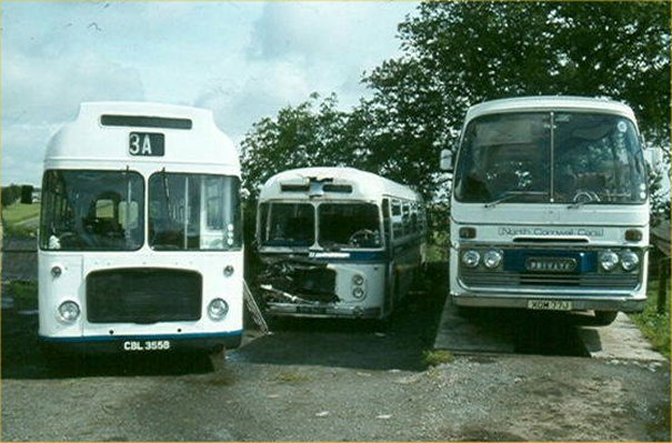 841SUO with North Cornwall Cars