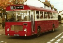 AAH739J in Red Bus Services livery