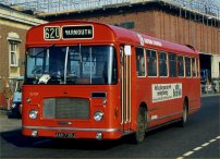 AAH739J in NBC red livery