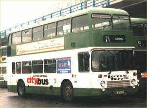 AFJ703T in Citybus  Joint Services livery
