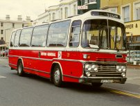 AFJ740T in NBC red and white dual-purpose livery