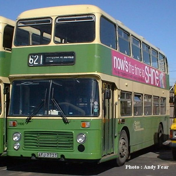 AFJ773T in Southern National livery