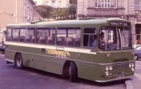 BDV318L in NBC green with Cornwall Busways fleetnames