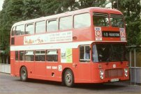 BJG674V in NBC red livery