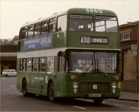 BKE860T in NBC green livery