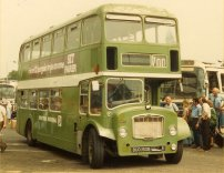 BUO150B in NBC green livery