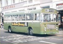 DHW292K in NBC green livery