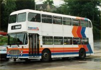 DHW352W in Stagecoach livery