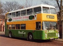 EDT918V with Lincolnshire Road Car