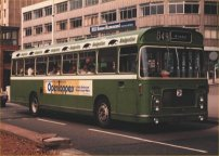 EHU383K in NBC green livery with Badgerline vinyls