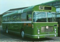 EHU383K in NBC green livery