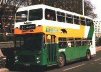 EWS752W in Badgerline Swift Link livery