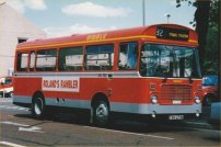 FBV271W in Ribble post-deregulation livery