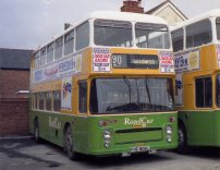 FHE806L with Lincolnshire Road Car