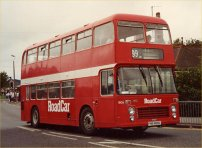 FHE806L in NBC red with Road Car fleetnames