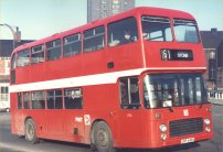 GRF696V in NBC red livery