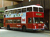 HJB453W in Wycombe Bus livery