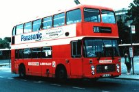 HJB453W in NBC red livery