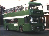 HPT82N in NBC green livery with Swindon & District fleetnames