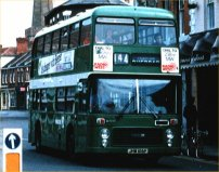 JHW106P in NBC green livery
