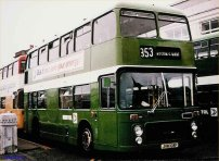 JHW108P in NBC green livery
