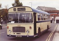 JMW168P in Thamesdown livery
