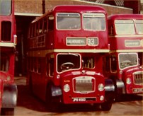 JPW456D in Tilling red livery
