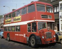 JPW456D in NBC red livery