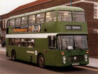 JWV251W in NBC green livery