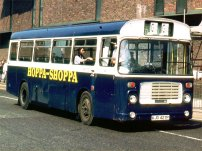 KJD427P in initial Blue Saloon livery