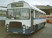 KPA347P in Trimdon Motor Services livery