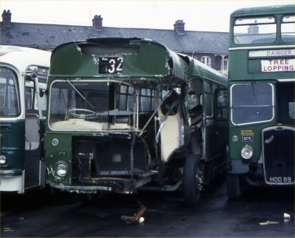 LDV461F with accident damage in 1970