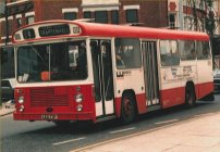 LED73P in Warrington Borough Transport livery