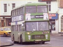 LEU254P in NBC green livery