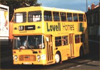 LEU258P in Lovell Homes advertising livery