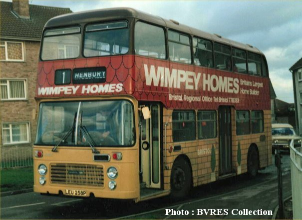 LEU258P in Wimpey Homes livery