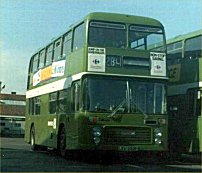 LEU260P in NBC green livery