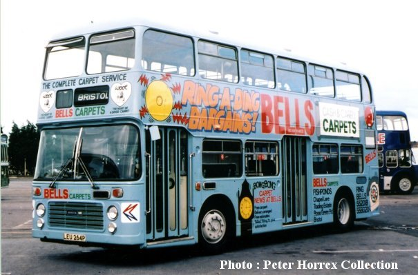 LEU264P in Bell's Carpets livery