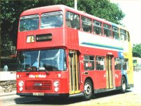 LEU266P in City Rider livery