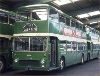 LFS298F in NBC green livery