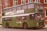 LHT730P in NBC green livery