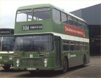 LVL802V in NBC green livery