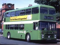 MDM284P in NBC green livery