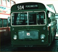 MUO328F in NBC green livery
