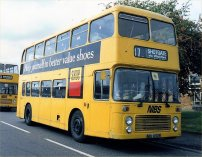 NDL652R in NIBS allover yellow livery