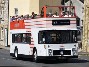 OCK995K in Ribble open-top livery
