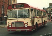 OEF77K in Hartlepool post-1974 livery