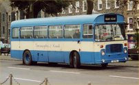 OJD46R in Guernseybus blue and cream livery