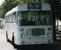 OJD64R in allover white livery with Guernseybus